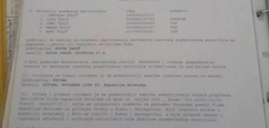 Hrvatski blok poziva Ministra Davora Čordaša da podnese ostavku!