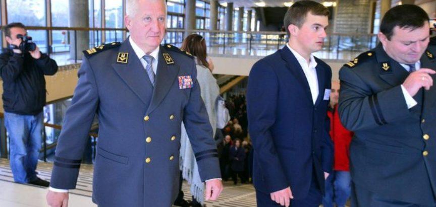 Brojni hrvatski dužnosnici, zastupnici i generali oprostili se od Slobodana Praljka