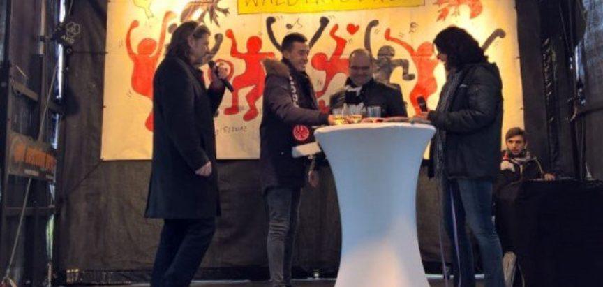 Marijan Ćavar: Navijači Eintrachta su mi pripremili dobrodošlicu i jako sam im zahvalan