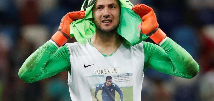Subašić: Poštujem Fifina pravila, ali majicu s Hrvojem ne skidam