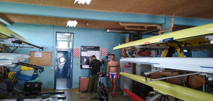 Ramski veslači na pripremama za Hrvatsko državno prvenstvo na Jarunu
