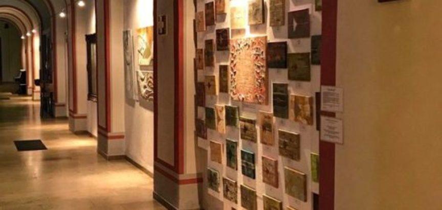 Foto: Izložba umjetničkih radova Ramkinje Ljubice (Šakota) Kross u Mϋnsteru