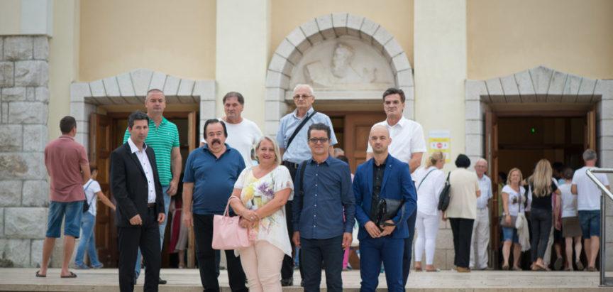 PREDSTAVNICI KOALICIJE HRVATSKO ZAJEDNIŠTVO PROSLAVILI VELIKU GOSPU U MEĐUGORJU