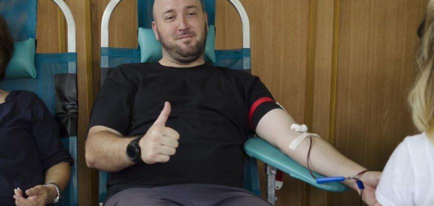 Foto: Na današnjoj akciji darivanja krvi prikupljeno 55 doza