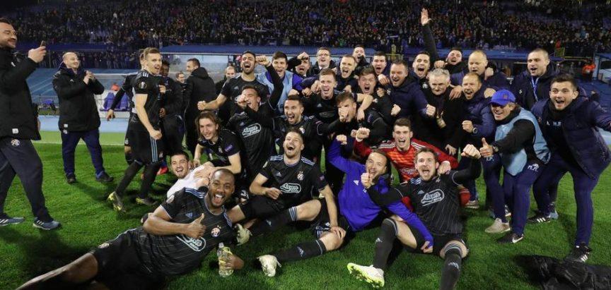 Dinamova europska čarolija se nastavlja! Plavi razbili Viktoriju za osminu finala