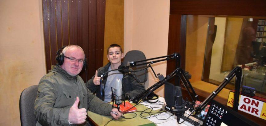 AUDIO/FOTO: Marko Bošnjak gostovao u programu Radio Rame