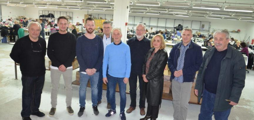 Partneri iz Njemačke u posjetu tvornici Rama-tex d.o.o.