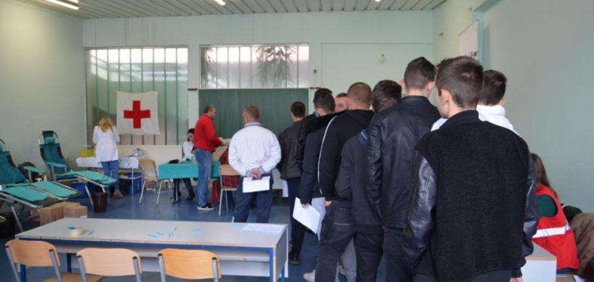 Foto: U Srednjoj školi Prozor prikupljeno 39 doza krvi