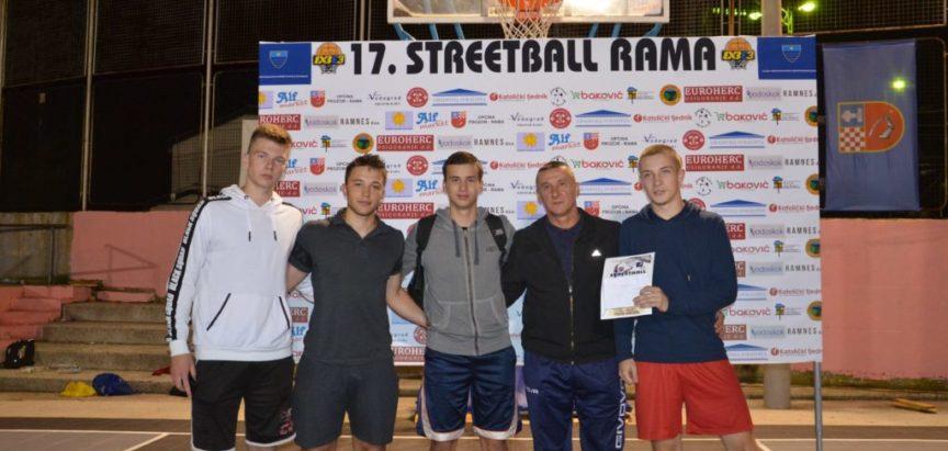 Pobjednik Streetball Rama 2019 za mlade je ekipa Alf Market