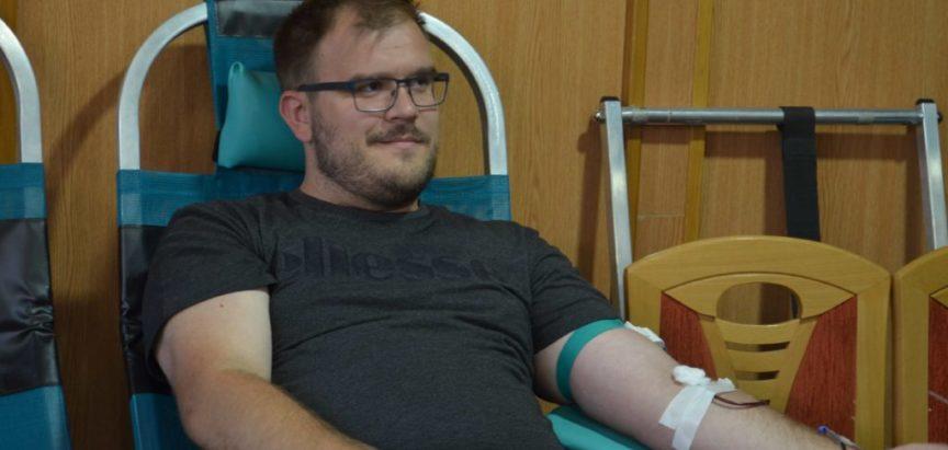 Foto: Prikupljena 61 doza krvi u Rami