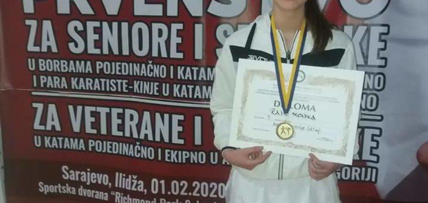 Monika Rajić putuje u Mađarsku na EP u karateu