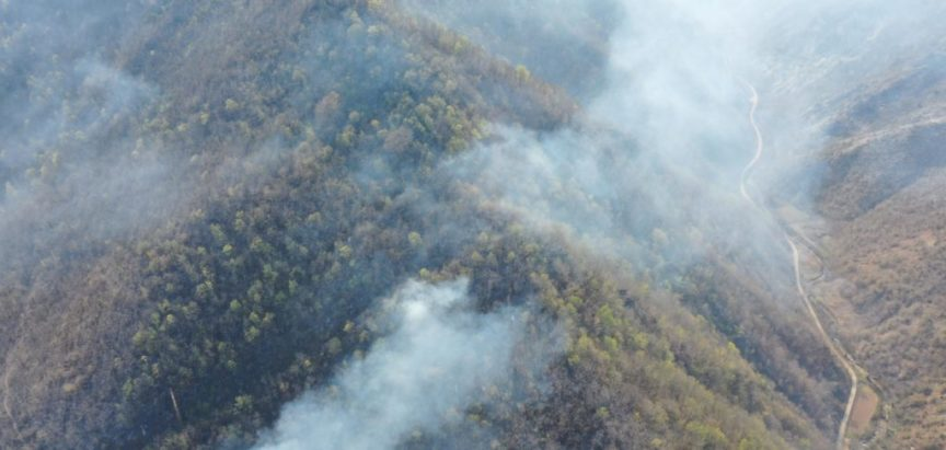 Foto/video: Požari u Rami su jednim dijelom ugašeni i stavljeni pod kontrolu, neki su aktivni i šire se