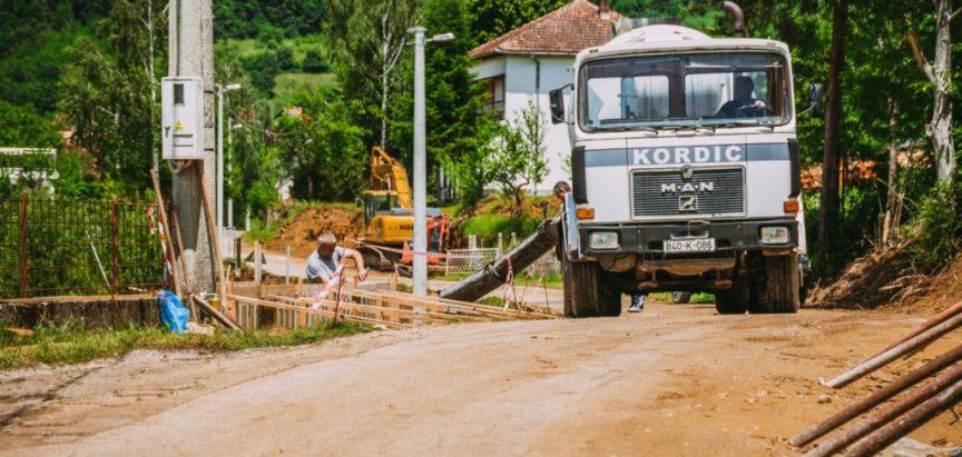 Foto: Proširenje puta od Ripaca prema Šćitu