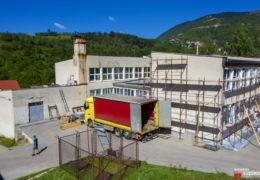 Foto: Srednja škola Prozor uskoro s novom fasadom