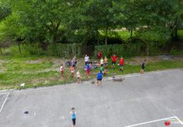 """Foto/video: Veslači VK """"Ustirama"""" marljivo vježbaju na vodi Jablaničkog jezera"""