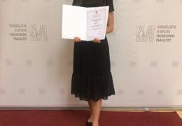 Ružica Perić dobitnica  Dekanove nagrade  na fakultetu Dentalne medicine u Splitu
