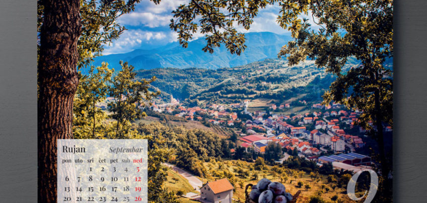 Ljepote Rame u kalendaru za 2021. godinu