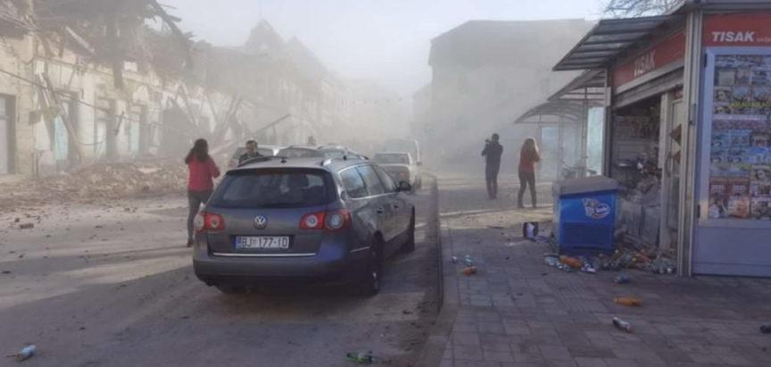 Snažan zemljotres s epicentrom kod Zagreba (Petrinja) osjetio se u BiH