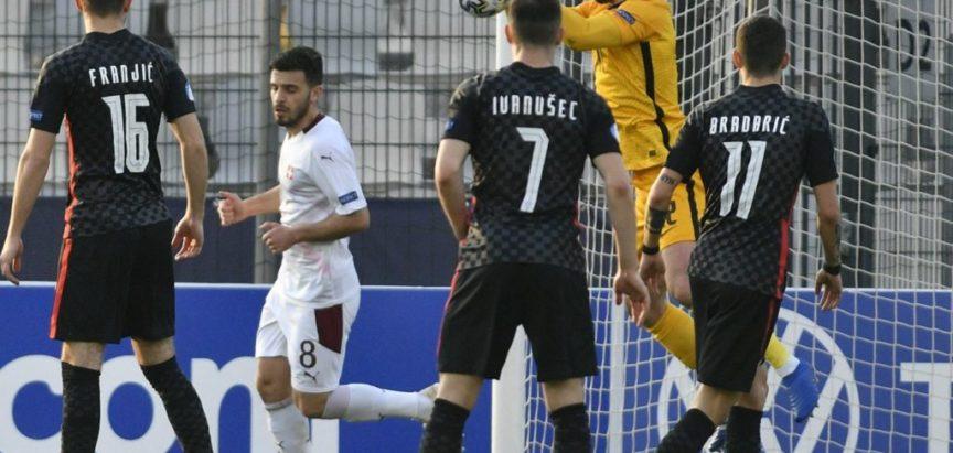 Mladi nogometaši Hrvatske pobijedili Švicarsku 3:2