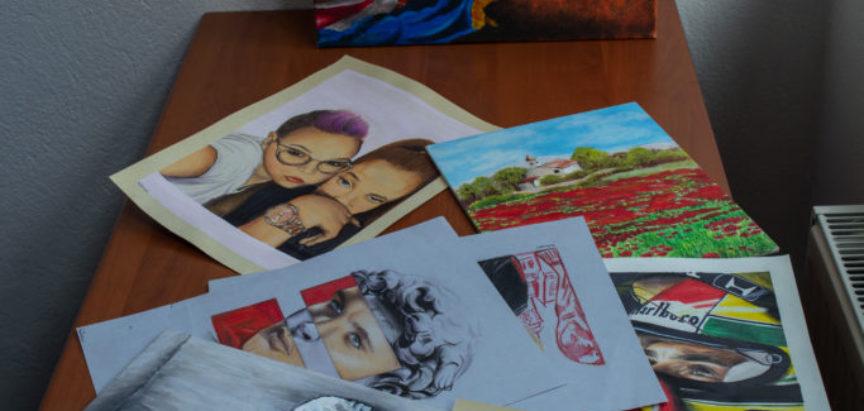 Predstavljamo: Mlada umjetnica Ana Ivančević kojoj su inspiracija ljudi oko nje