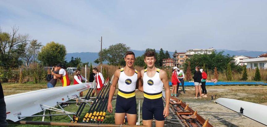 """Veslački klub """"Rama"""" nastupao na Balkanskom veslačkom prvenstvu u Sjevernoj Makedoniji"""