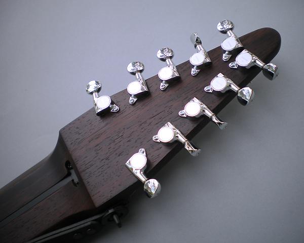 Ten String Grand、ウエンゲ堅木材