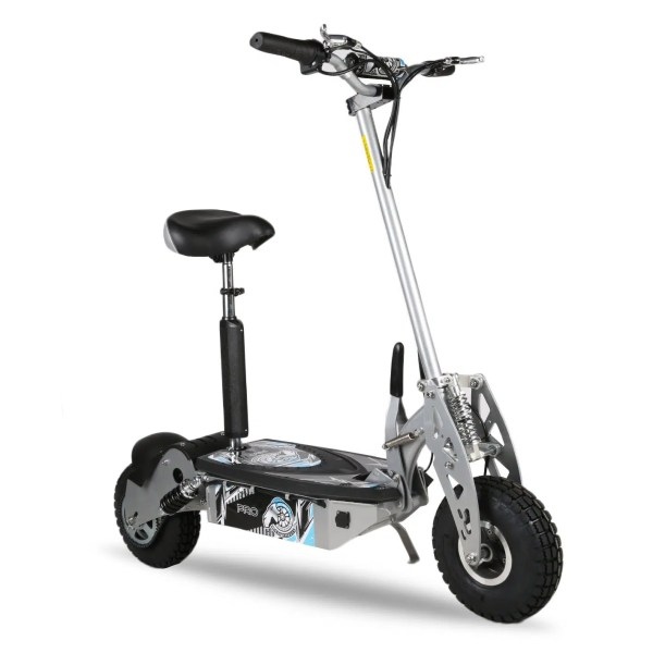 Pro Electric Scooter – Silver 1000W 48V