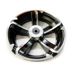 Electric Scooter Pro X Series Complete Rear Wheel