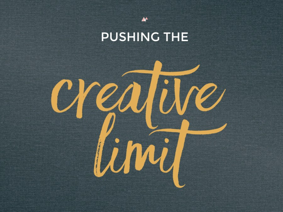 pushing the creative limit 2.001