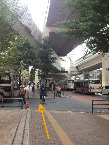 渋谷方面停留所
