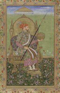 440px-Portrait_of_the_emperor_Shajahan,_enthroned.