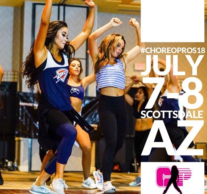 Teaching at Choreography Pros Dance Convention