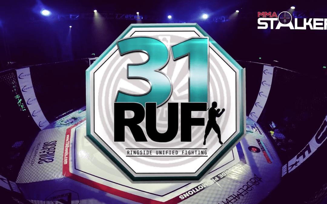 Upcoming MMA Event | RUF MMA 31