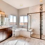 Valdoro Master Bathroom - Ranch Living - Colorado Springs Semi-Custom Homes