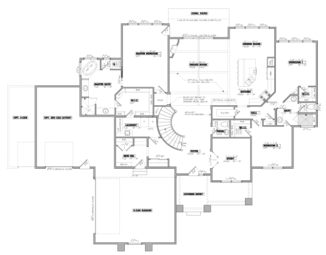 Valdoro Floorplan - Ranch Living