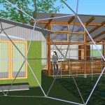 Eco Village with Geodesic Dome