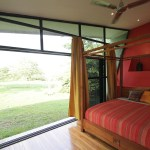 Master Bedroom opens to the outside