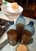 Bottled kefir soda