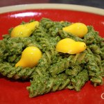 Purslane Basil Pesto