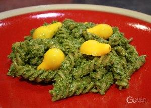 Purslane-Basil-Pesto-Pasta