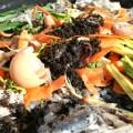 Kitchen scraps and waste