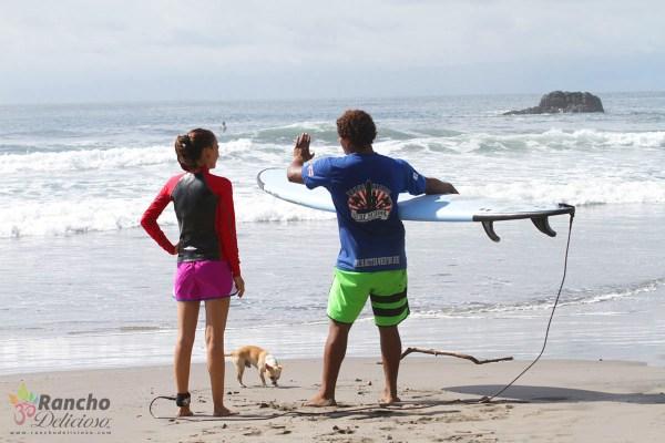 Surf Instructor in Montezuma Costa Rica