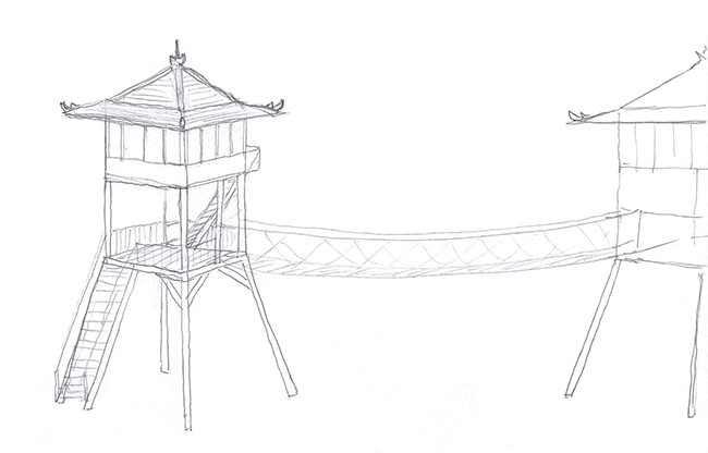 Treehouse Tower Design