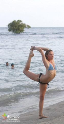Jesus Tree - Ashley Yoga Pose