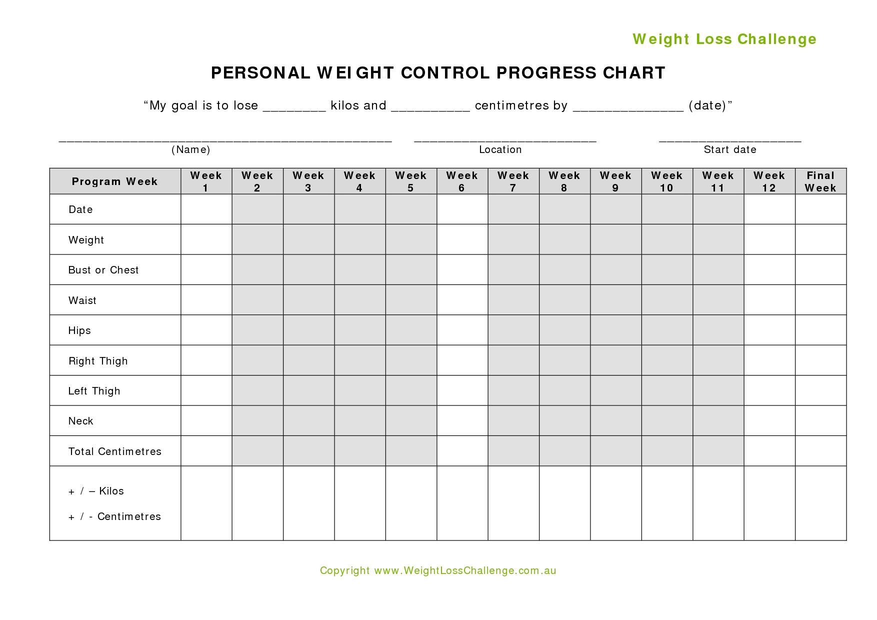 Fitness Challenge Tracker Templates Template Calendar Design