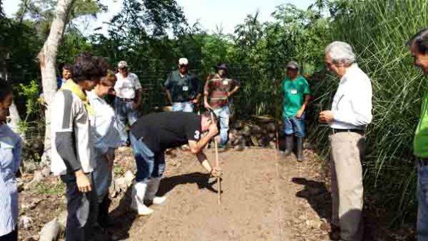 Midiendo la doble-axcavación, measuring double-excavation