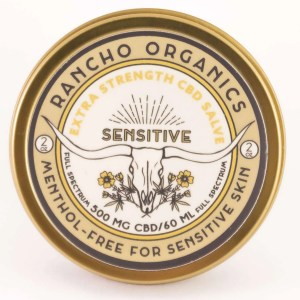 SENSITIVE Extra Strength CBD Relief Salve