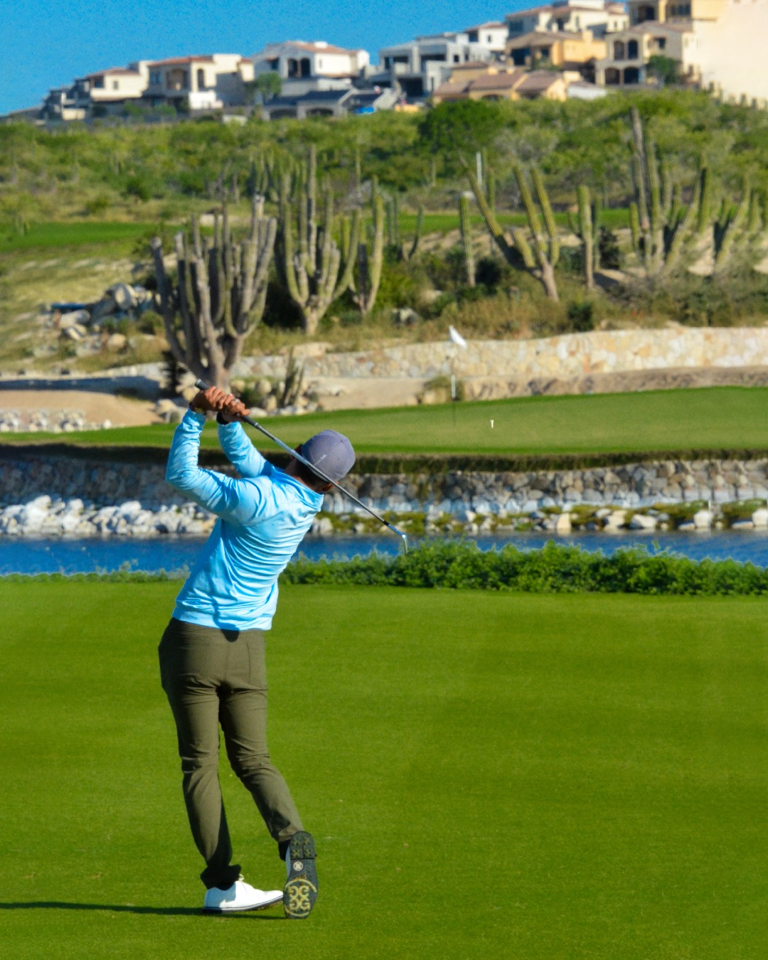 Golfers will love living with the Greg Norman Signature Golf Course on site.