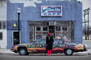 Photo: Randal Crow on the street in Clarksdale, MS