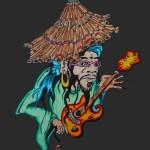 Bamboo Hat Dude